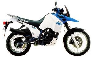 So sah 1987 eine Suzuki DR aus