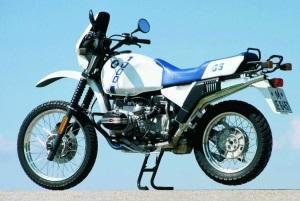 So sah 1987 eine BMW GS aus