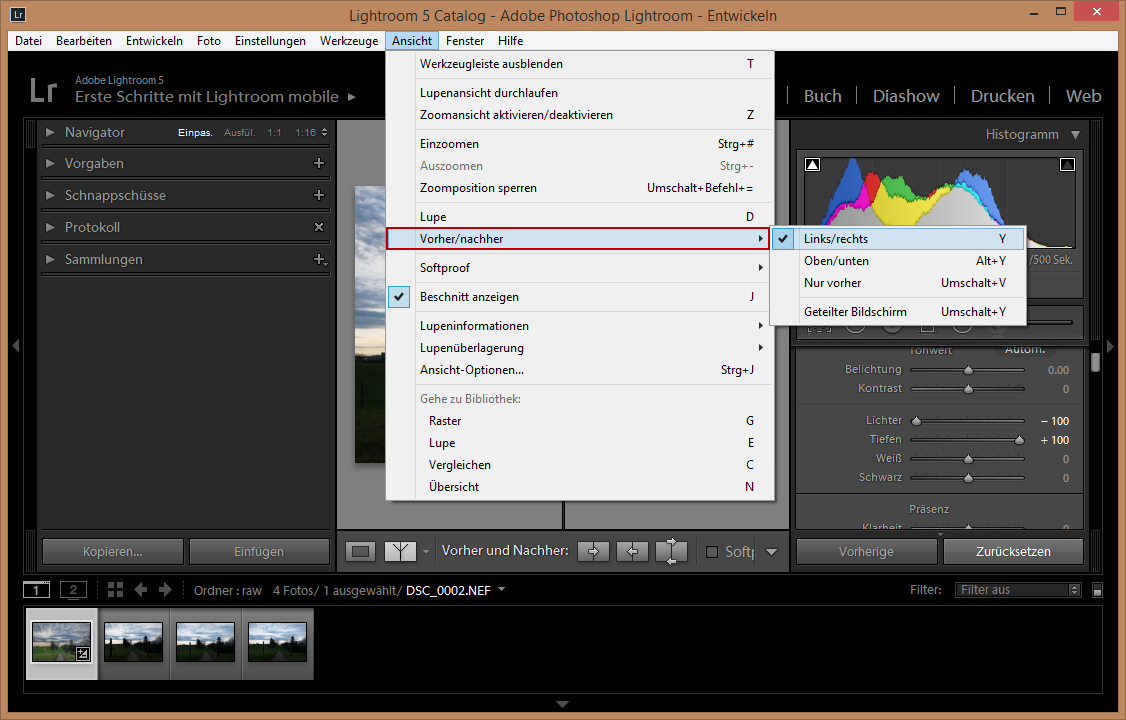 Lightroom 5 Einsteiger-Tutorial
