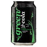 Green Cola Getränk Zuckerfrei Aspatamefrei Ohne Konservierungsstoffe Nur Natürliche Aromen inkl. Pfand (Dose 0,33l 12er Pack)