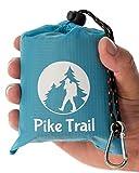 Pike Trail Outdoor-Taschendecke Metallisches Blau