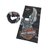 DODO-Harley Davidson Biker Fahrer Multi Schal Balaclava Tube Snood Maske Nackenwärmer Bandana