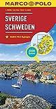 MARCO POLO Länderkarte Schweden 1:800 000: Wegenkaart 1:800 000 (MARCO POLO Länderkarten)