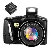 Digitalkamera Fotoapparat Digitalkamera 48MP 2,7K Kompaktkamera...