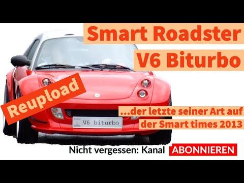 Reupload: Der letzte smart Roadster V6 Biturbo bei den smartimes 2013 in Luzern