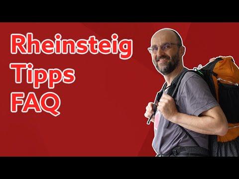 Rheinsteig Tipps und Fazit [Labervideo]