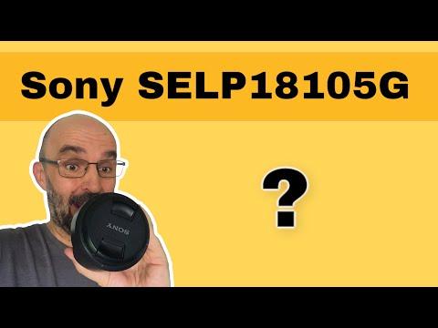 SELP18105G Objektiv an der Sony Alpha 6000 Serie