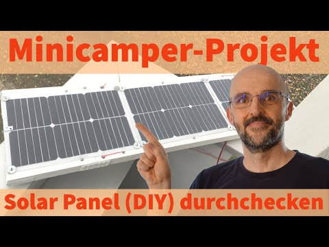Minicamper Solar Panel DIY ☀️🚘