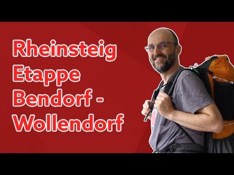 Rheinsteig ● Etappen Bendorf, Koblenz, Neuwied, Wollendorf 🎒☔️