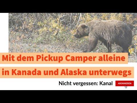 """Reisen: Alleine in Kanada / Alaska - Teil 4 - """"Into The Wild"""", Denali Nationalpark, Hatcher Pass"""