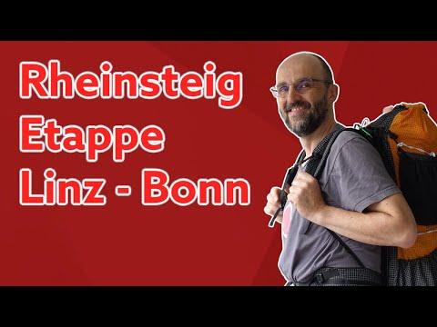 Rheinsteig Wanderung 🎒 Linz über Bad Honnef ans Ziel Bonn