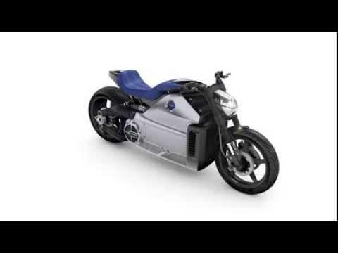 Voxan Wattman - 200hp electric motorcycle - 360 view
