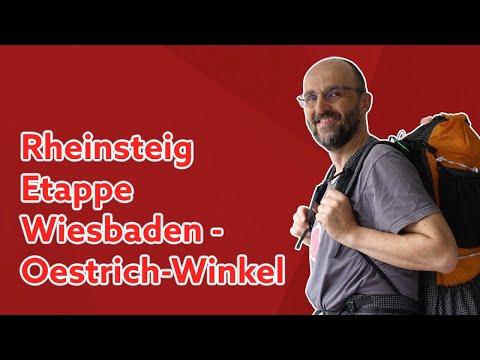 Rheinsteig Tag 1 und 2 | Wiesbaden nach Oestrich-Winkel