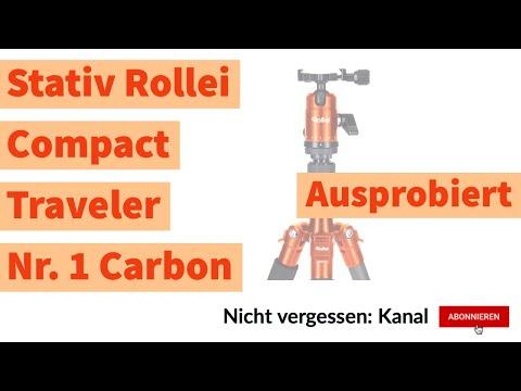 Fotografie: Ausprobiert - Stativ Rollei Compact Traveler Nr. 1 Carbon