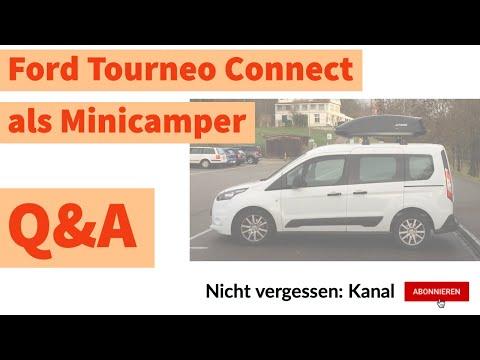 Minicamper | Ford Tourneo Connect als Minicamper [Q&A]