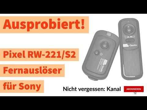Sony Fernauslöser Test | Review Pixel RW-221/S2
