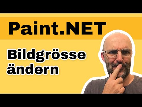 Bildgrösse anpassen Paint.NET [Tutorial]