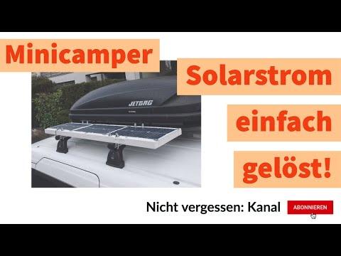 Mein Minicamper bekommt Solar / Überlegungen zum Strombedarf / Meine Meinung zu Amazon