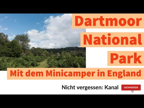 Dartmoor National Park   Mit dem Minicamper in England
