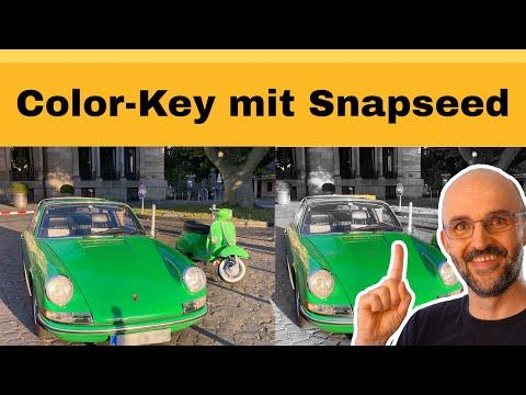 So erstellst du ein Color-Key mit der kostenlosen Bildbearbeitung Snapseed 2021!
