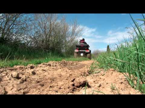 """Outdoor: Riding quad / ATV for the first time or """"Playing in the dirt"""""""