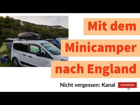 Mit dem Minicamper nach England