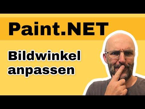 Bild drehen Paint.NET - Bild ausrichten