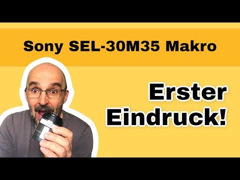 30mm Makro Sony an Sony Alpha 6000 - erster Eindruck [SEL-30M35]