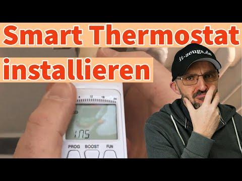 So installierst du einen Smart Thermostat