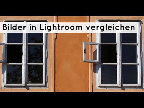 Bilder in Lightroom vergleichen