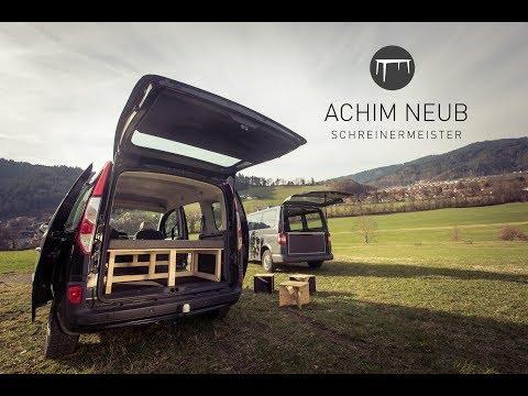 Kangoo Camping Bett von Achim Neub Schreinermeister
