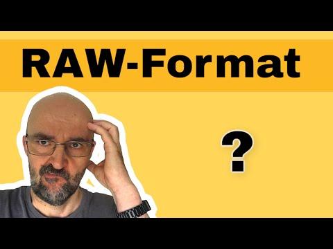 Was ist Camera RAW? Einfach erklärt.