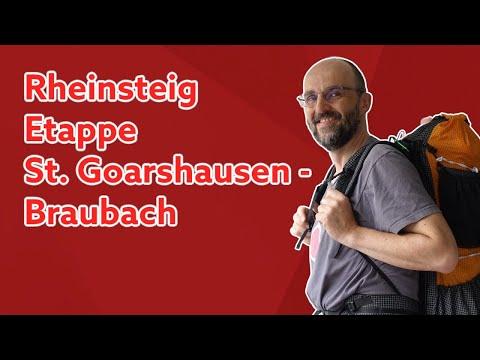 Rheinsteig - Tag 7 und 8 | St. Goarshausen - Kamp-Bornhofen - Braubach