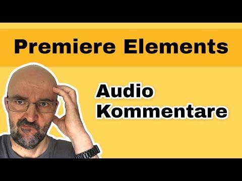 Video in Adobe Premiere Elements nachvertonen