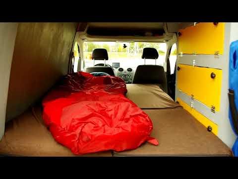VW Caddy Minicamper ( Hochdachcamper) Ausbau.