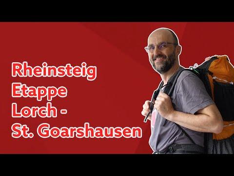 Rheinsteig | Lorch - Kaub - St. Goarshausen | Tag 5 und 6