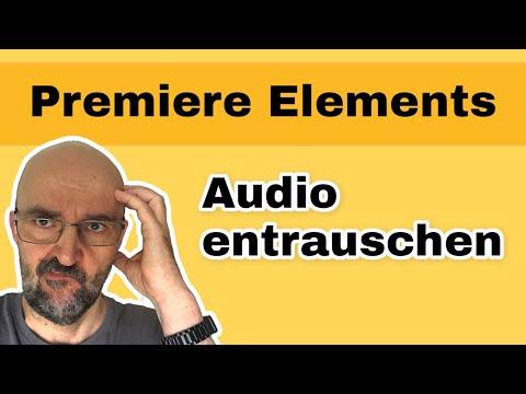 """Audiospur im Video in Adobe Premiere Elements """"entrauschen"""""""