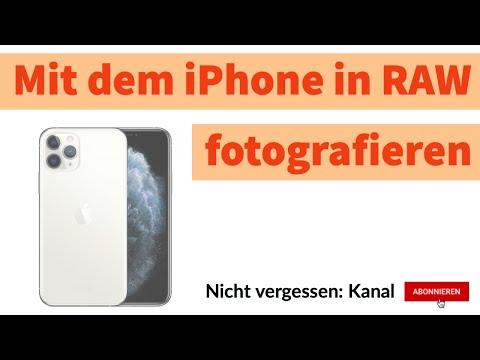 Fotografieren: Mit dem iPhone in RAW fotografieren