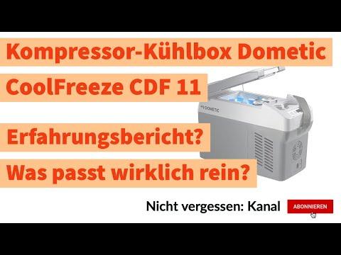 Dometic Kühlbox CoolFreeze CDF 11 | Kompresor Kühlbox für den Mini Camper