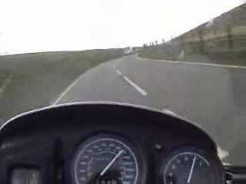R1150GS on the Isle of Man TT Course