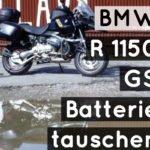 BMW R 1150 GS | Batterie tauschen / Batterie ausbauen