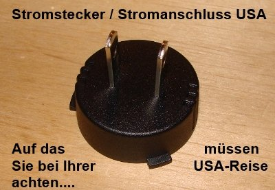 Stromadapter USA / Kanada