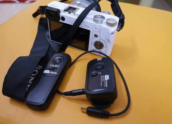 Fernauslöser für Sony Alpha 6000