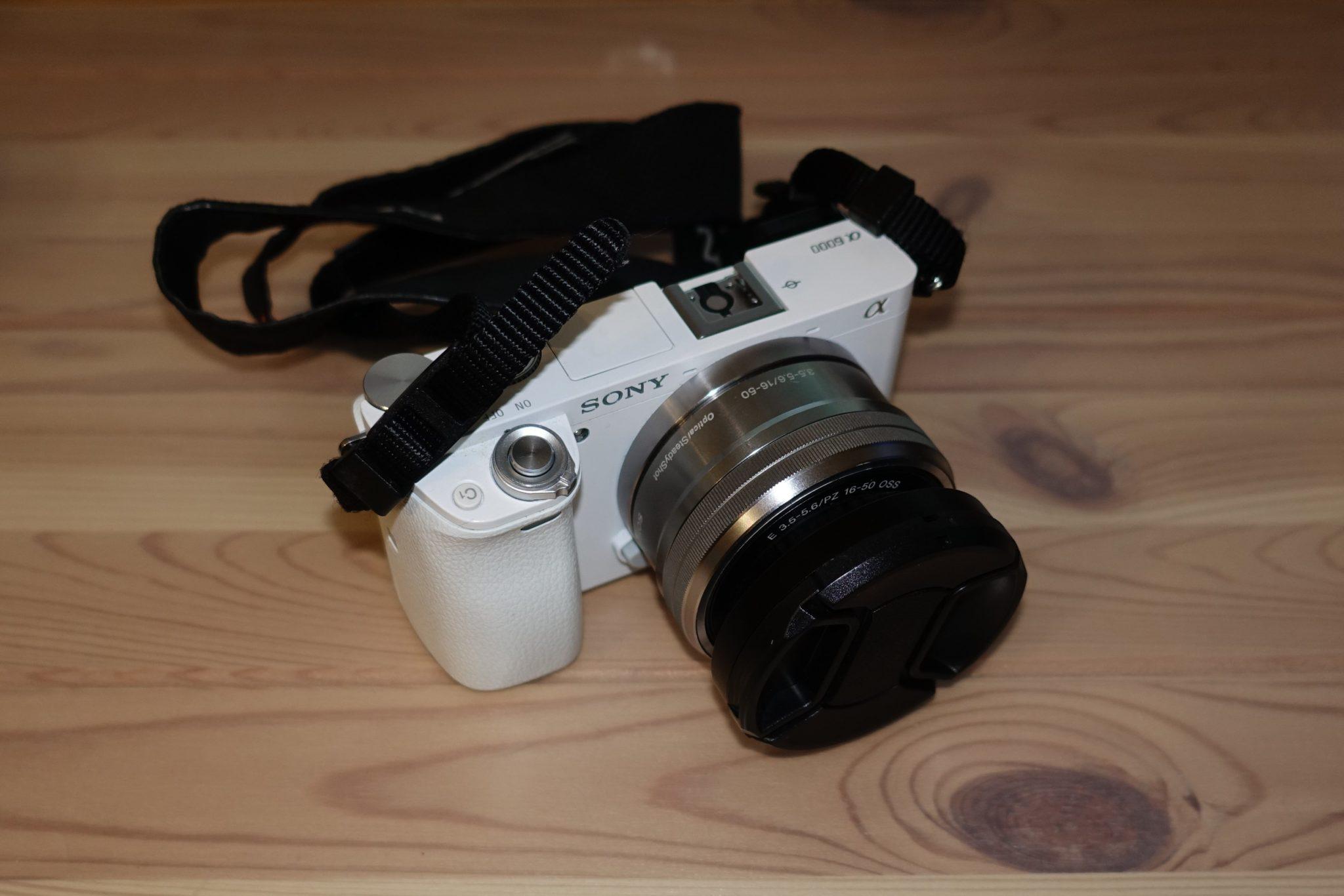 Sony Alpha 6000 Kitobjektiv mit zusätzlicher Blende