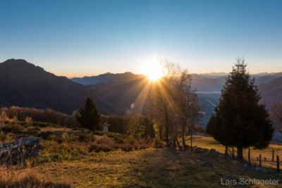 Herbstwanderung Bellinzona - Comer See