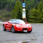 Mit der Lotus Elise durch die Schweiz