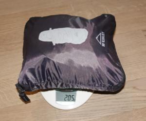 McKinley-Flightcover-Gewicht