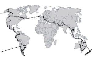 Die Route der Krad-Vagabunden