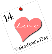 Am 14. Februar ist wieder Valentinstag