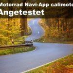 Angetestet ▷ Motorrad Navi-App calimoto